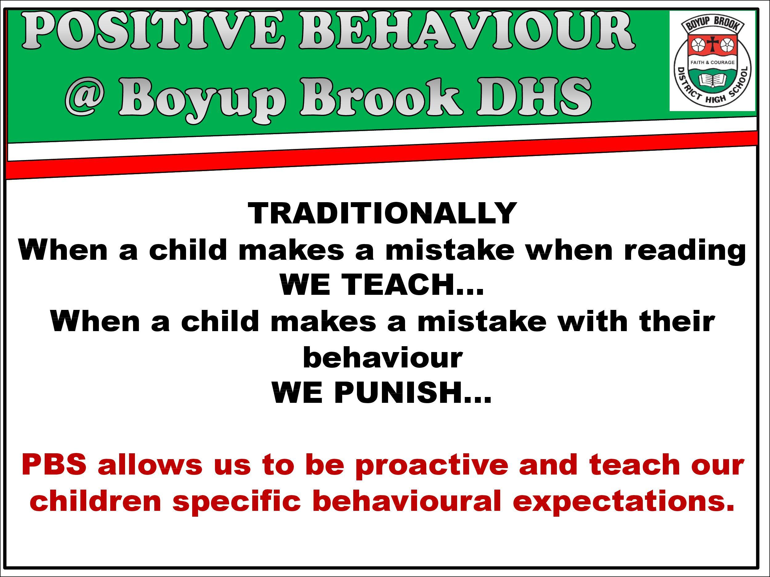 Positive Behaviour Support Page 2