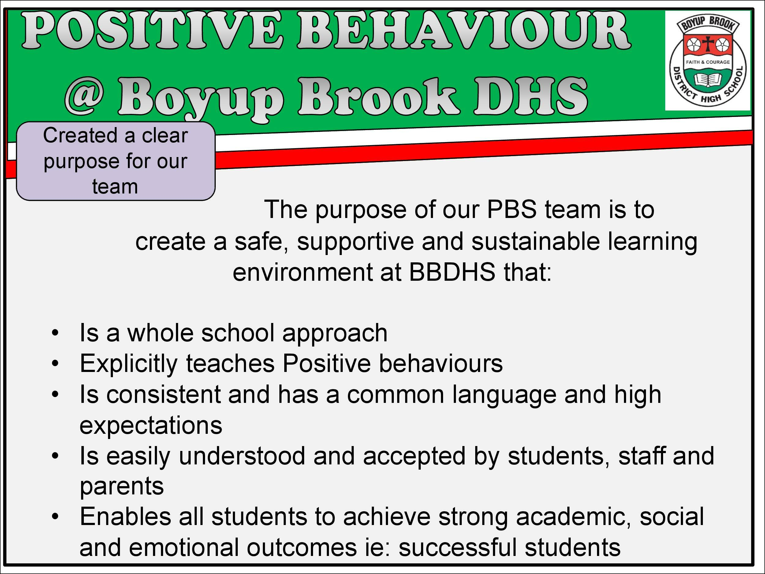 Positive Behaviour Support Page 4