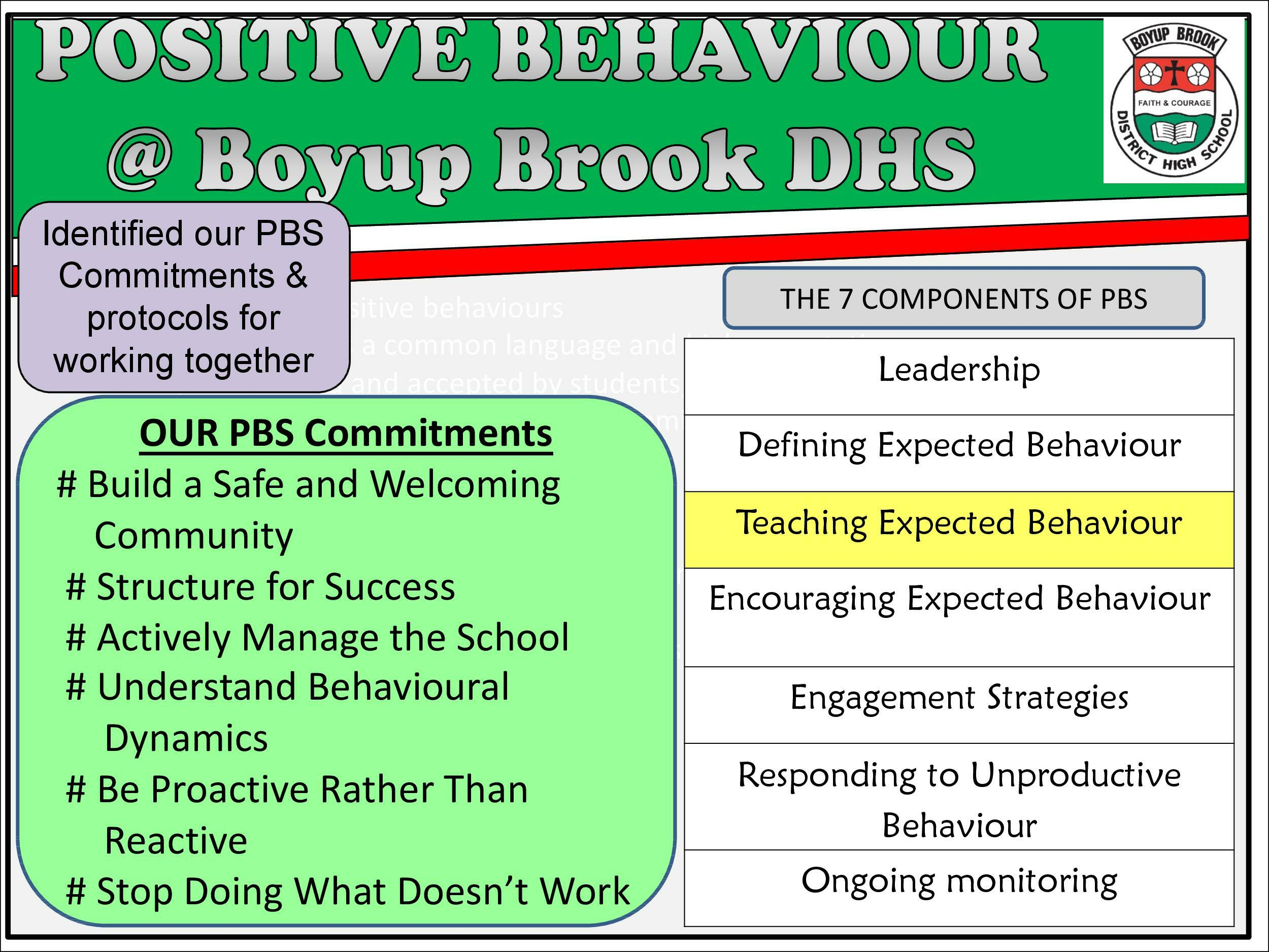 Positive Behaviour Support Page 6
