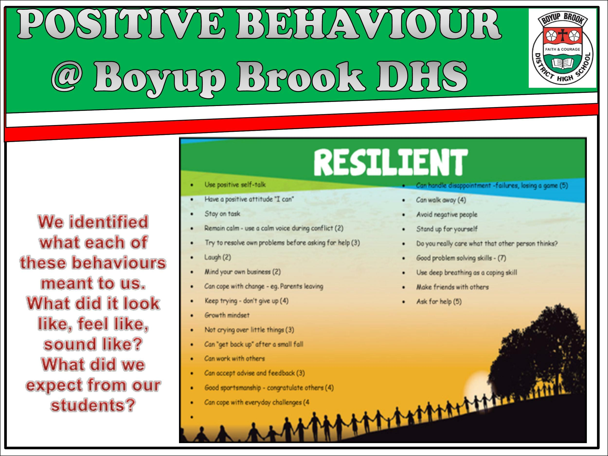 Positive Behaviour Support Page 10
