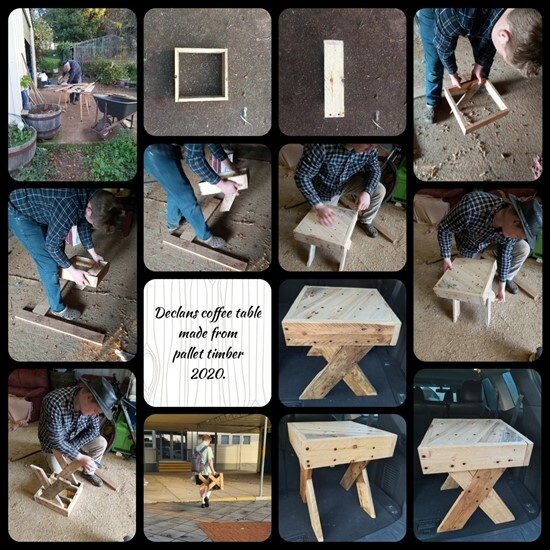Declan's Table 1