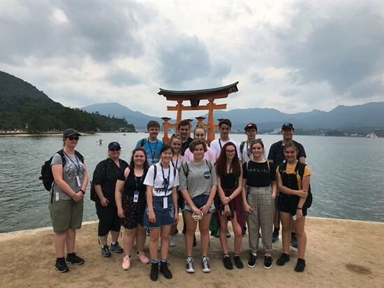 Japan Tour - Itsukushima Shrine at Miyajima