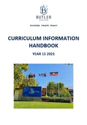 Year 11 2021 Curriculum Handbook
