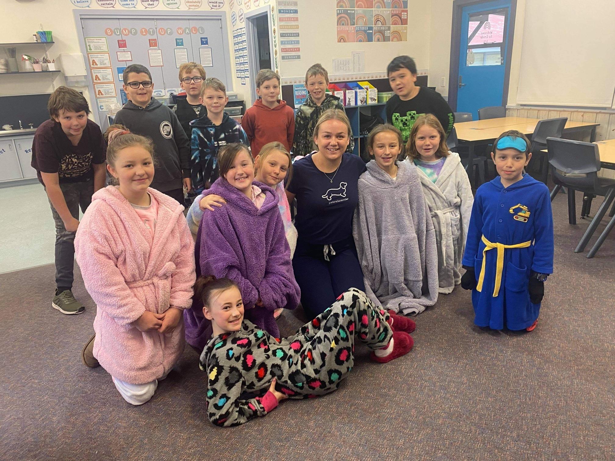 Pyjama Day 34 class 2