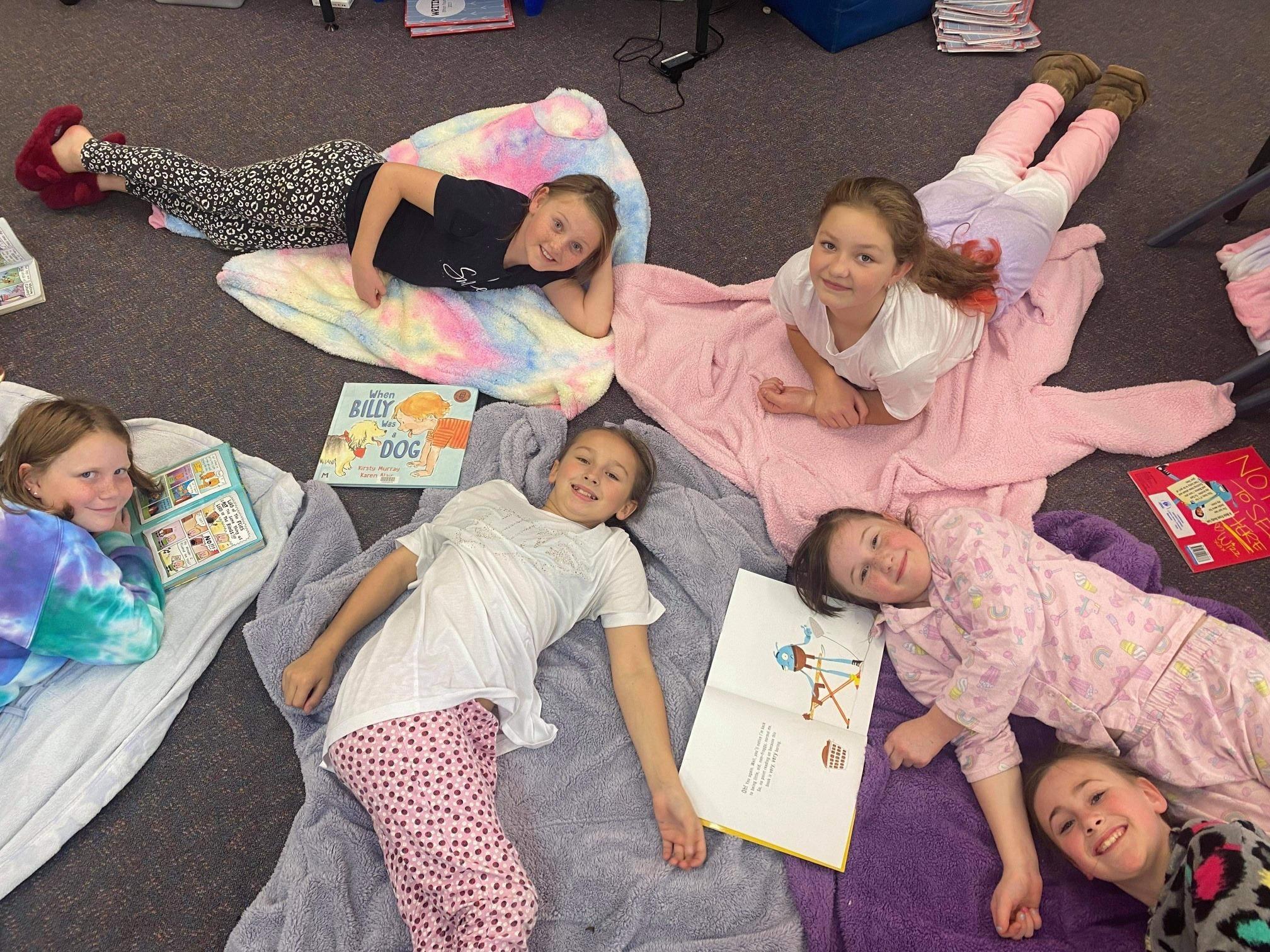Pyjama Day 34 class