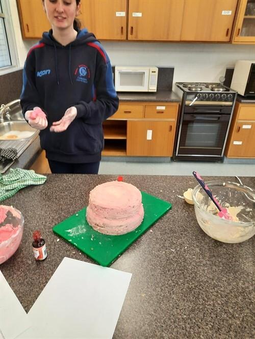 Cake making 3
