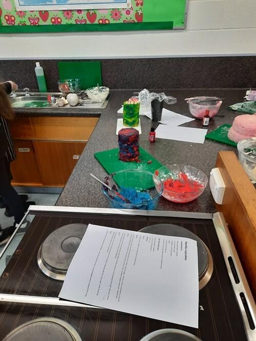 Cake making 4