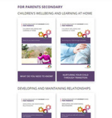 CSPA for parents secondary