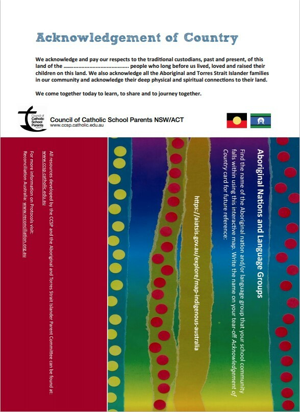 Acknowledgement of Country 2