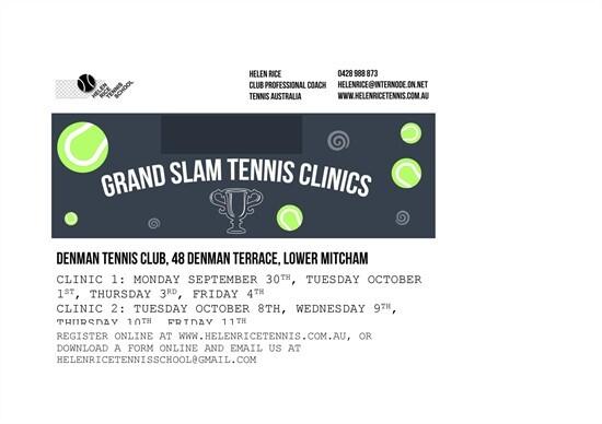 Grand Slam Clinic US Open