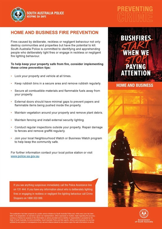 Home and Business Fire Prevention