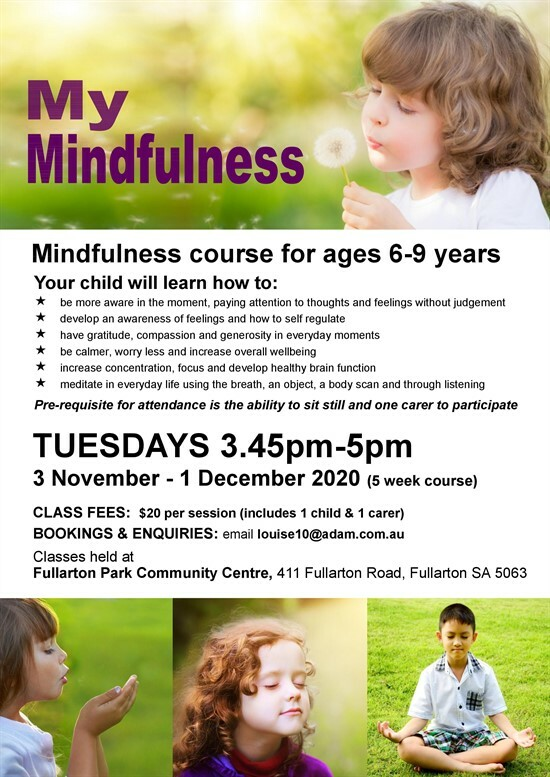 My mindfulness course