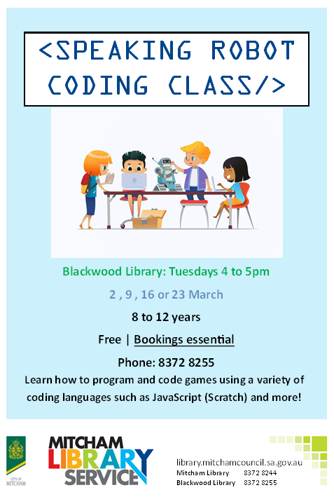 Coding Class Poster