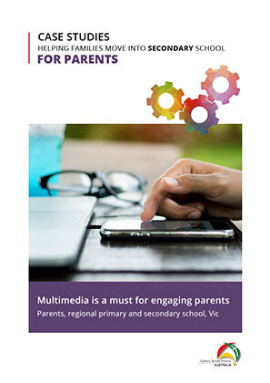 For Parents Secondary-Multimedia is a must for engaging parents