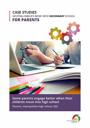 For Parents Secondary-Some parents engage better when their children move into high school