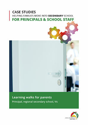 For Schools Secondary-Learning walks for parents