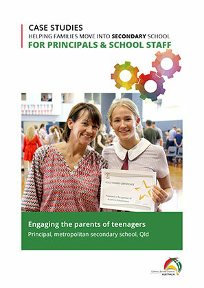 For Schools Secondary-Engaging the parents of teenagers