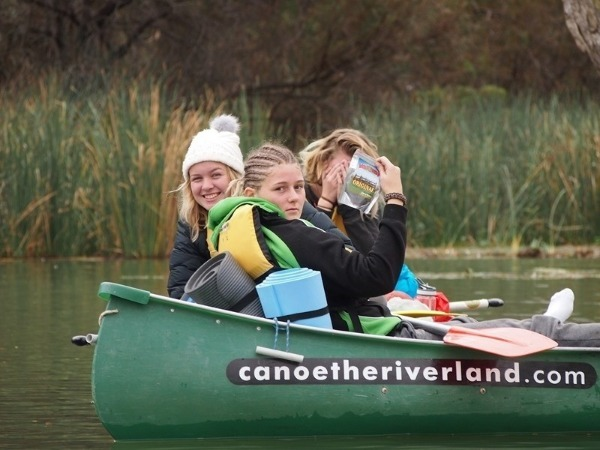 Outdoor Ed Canoeing