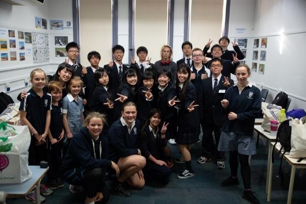 Ushiku High School Study Tour - August