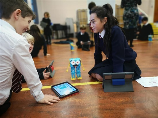 marty_in_the_class Lioncrest Education - The educational benefits of robots in the classroom