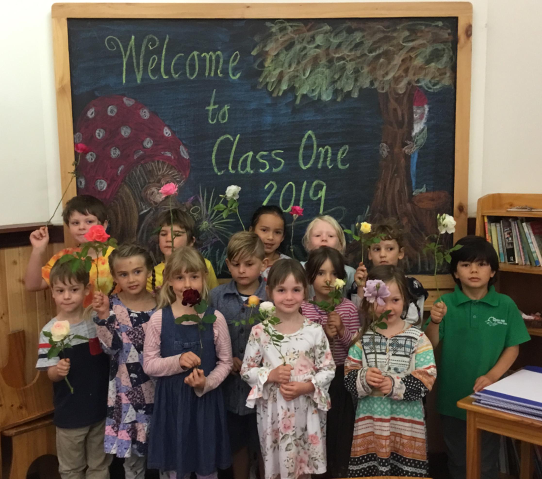 Class 1 2019 Rose Ceremony
