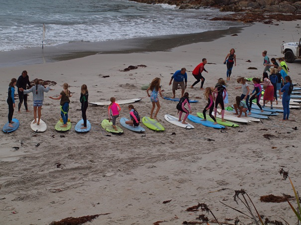 Class 6 Surf Lessons 2019