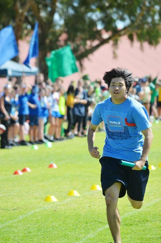 Sports Day final for Di