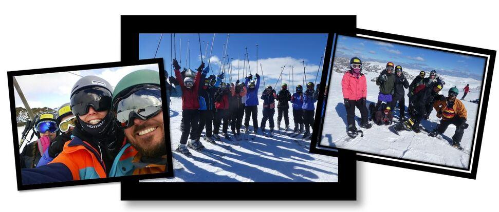 Banner ski trip