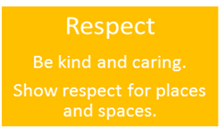 School Values - RESPECT