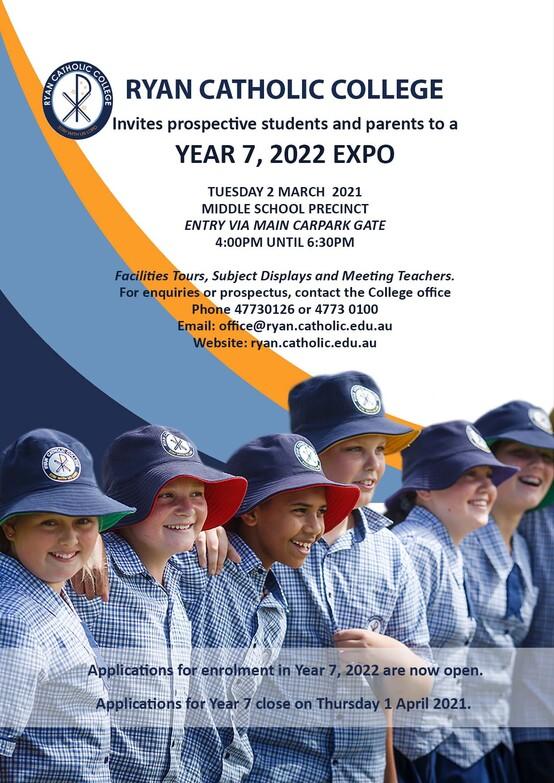 Year 7 EXPO