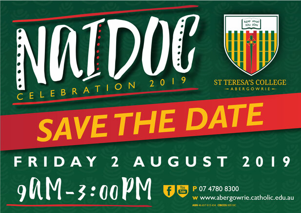 NAIDOC Celebrations Save the Date 2019-01