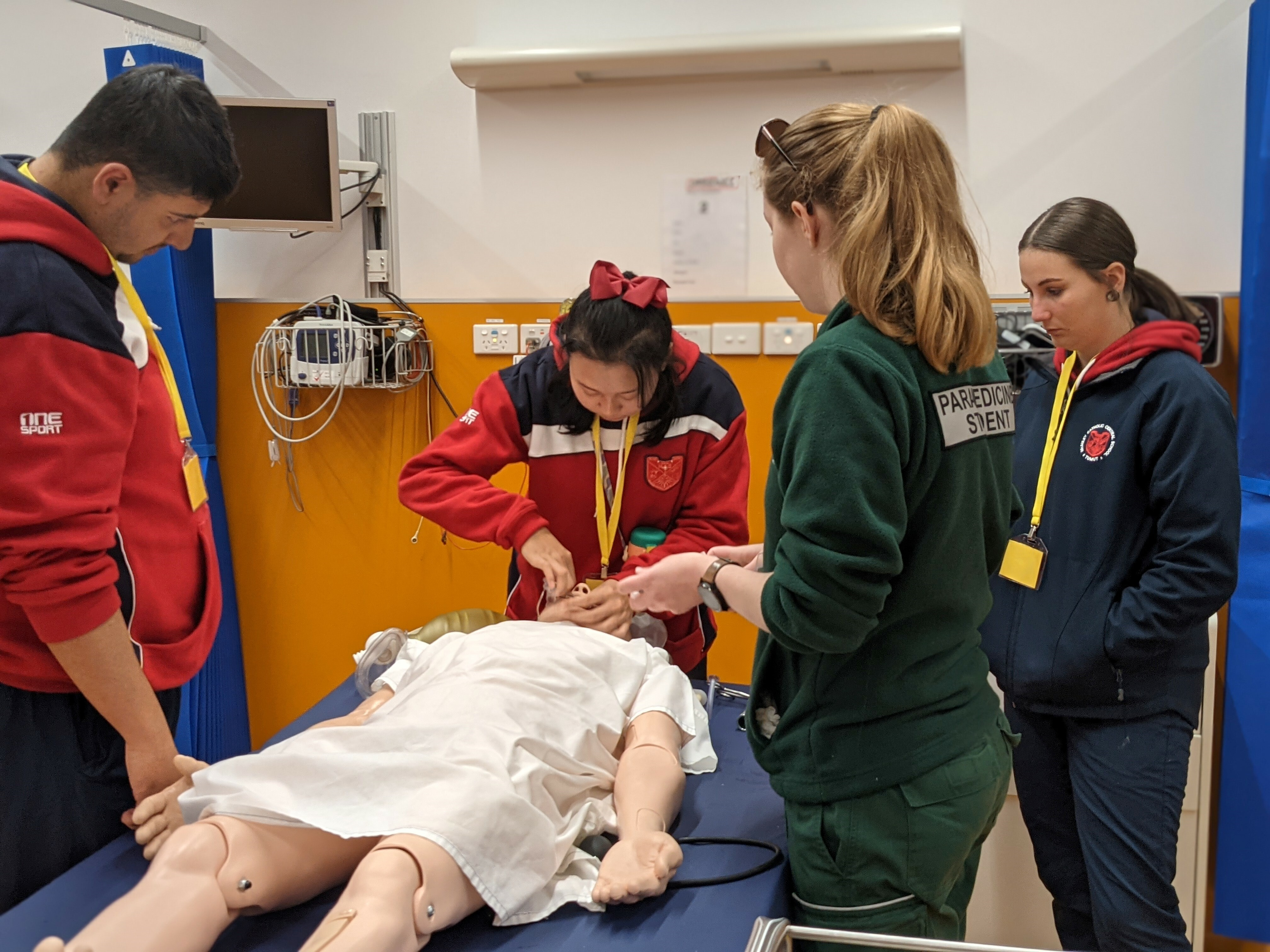 McAuley Yr 10 students benefited from a great hands-on visit to the Aust Catholic University.