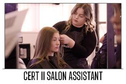 Cert II Salon Assistant