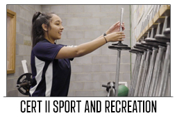 Cert II Sport Recreation