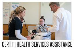 Cert III Health Service Assistance