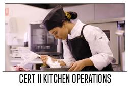 Cert II Kitchen Operations