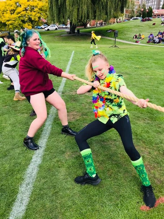 House sports day -Tug of war