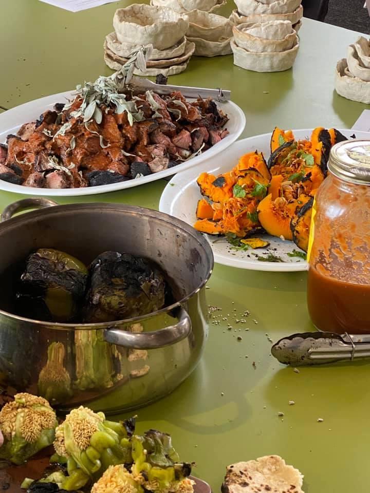 Aboriginal cooking 9