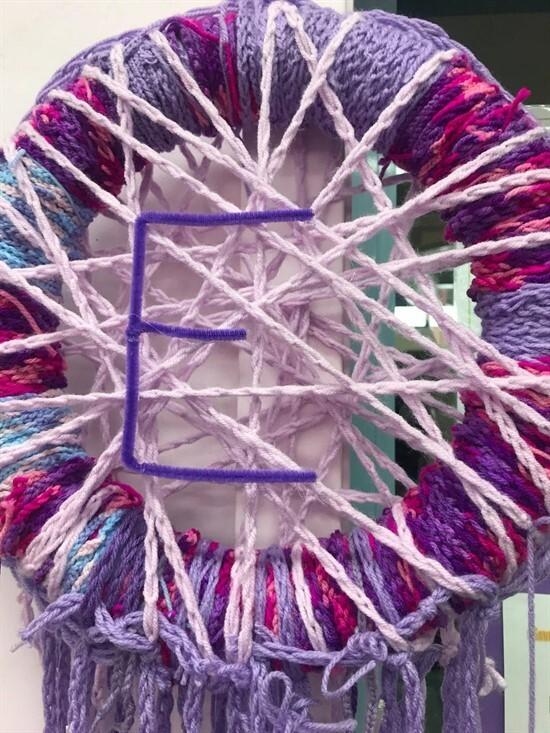 Finger Knitting 3