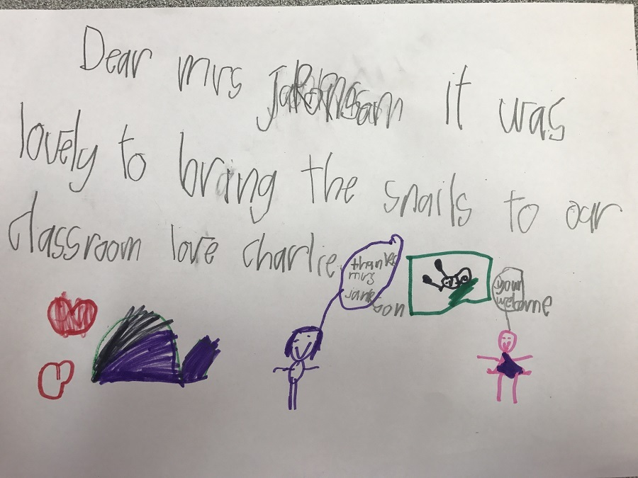 Thank you Letter - Charlie