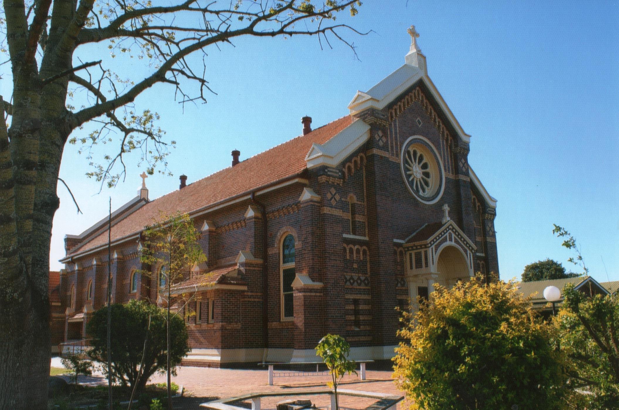 St Joseph's from CunninghamSt corner