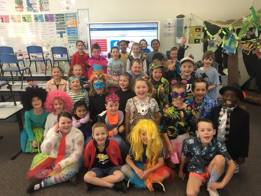 Yr 2 Wacky Wednesday