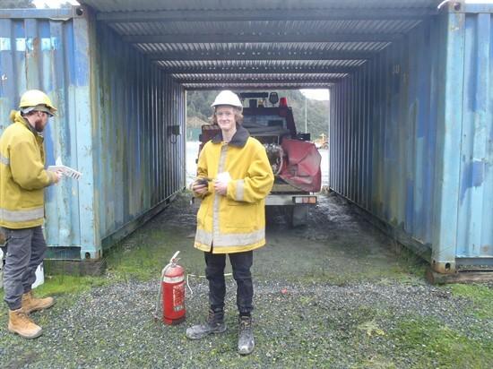 1 Fire Extingusisher Training