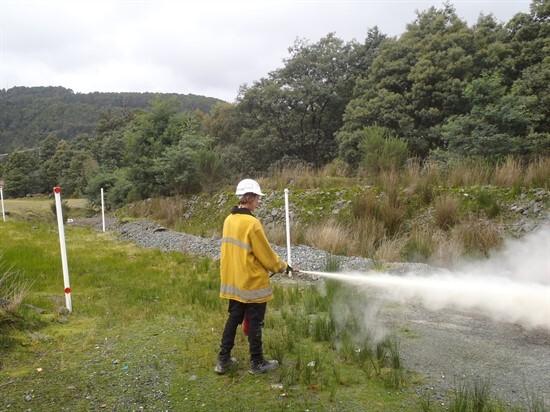 2 Fire Extingusisher Training