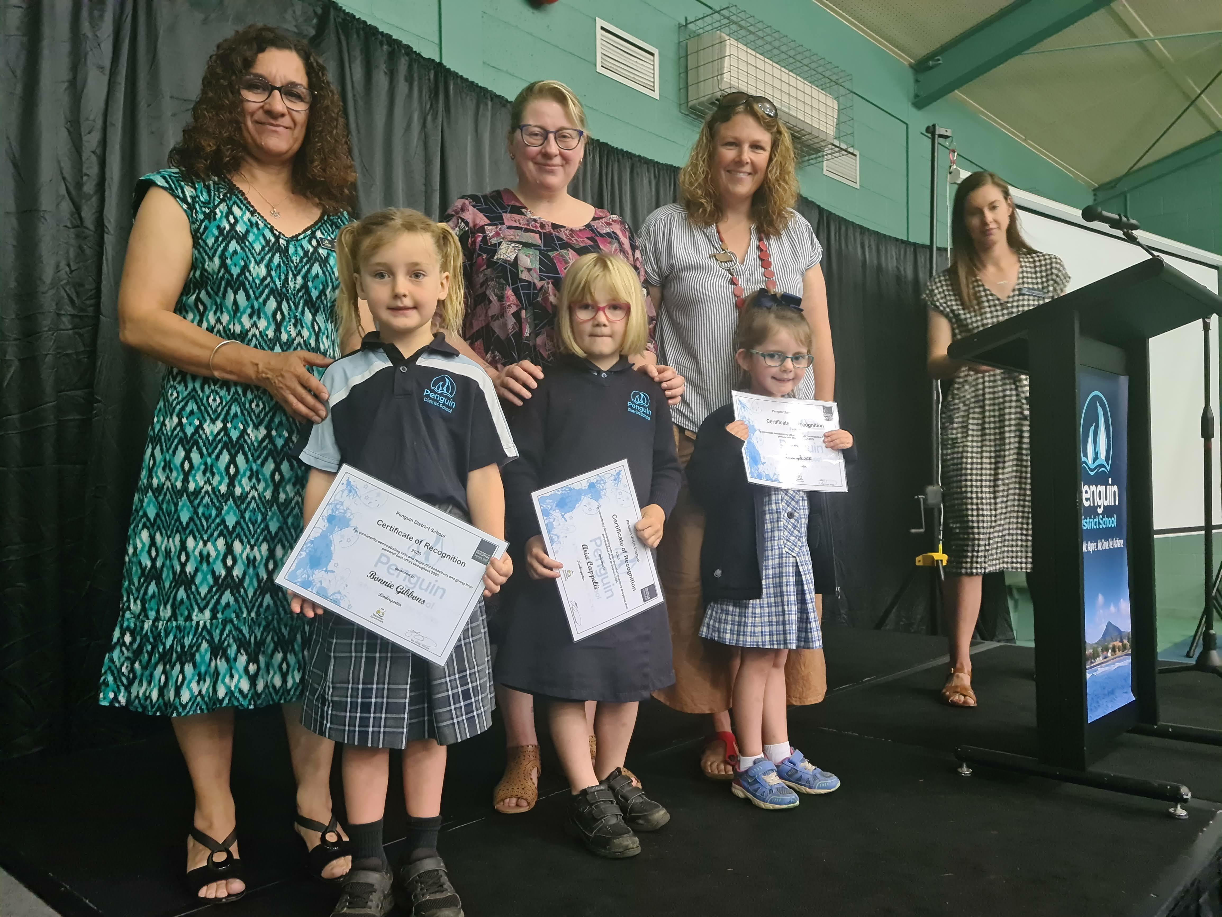 Kinder Certificate of Recognition