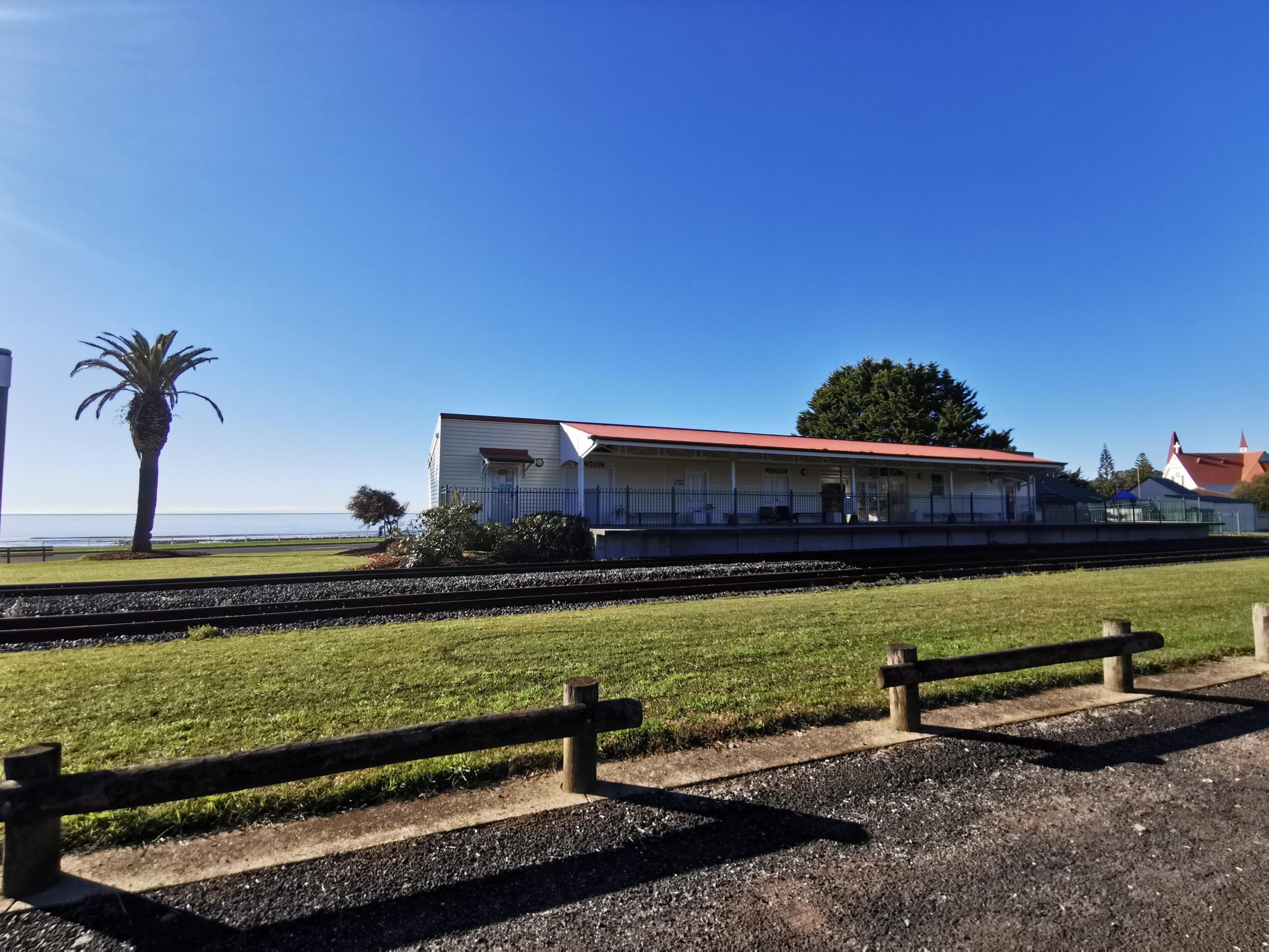 Railway Outside View