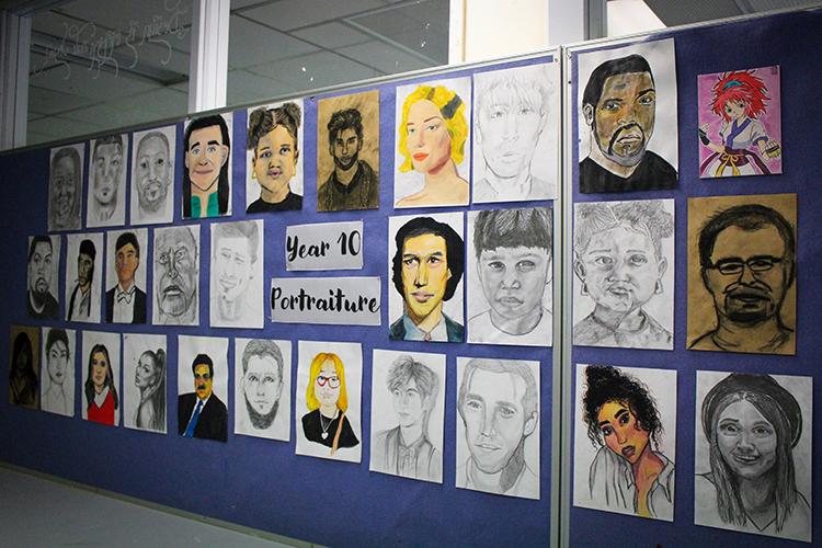Year 9-10 art-gallery6-09