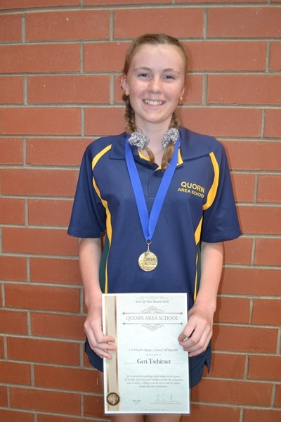 FRC All-round Achievement 7-9 Geri Tschirner