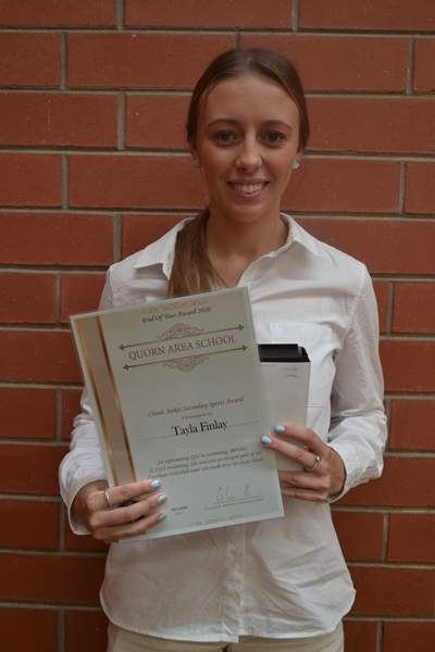 Tayla Finlay Secondary Sports Award