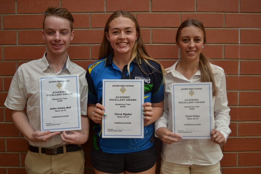 Academic Achievement Yr12